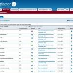sitefactor screenshot
