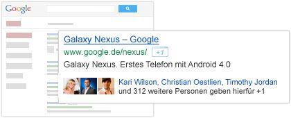 google+ box